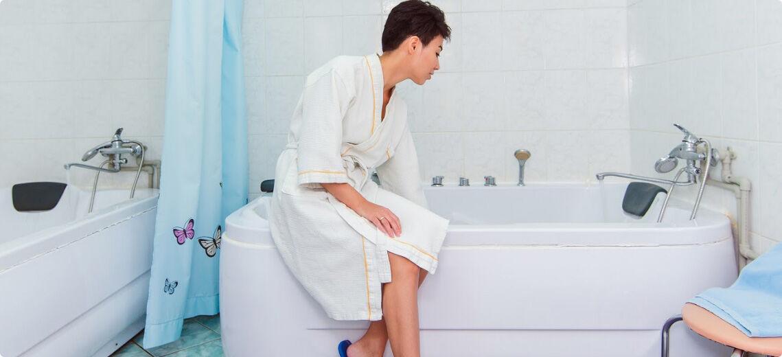 Водолечение— ванны